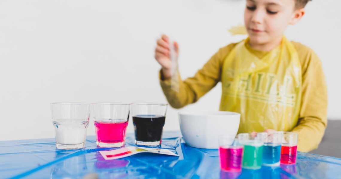 Simple Experiments to Teach Science for Children at Home